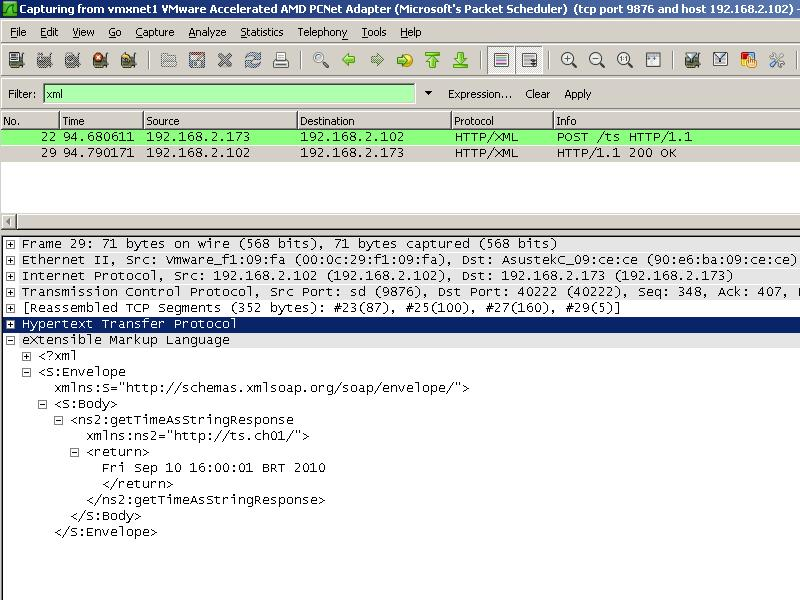 Capturing SOAP messages using wireshark – Muazzam Ali's Blog